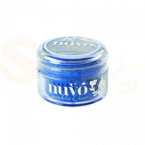 Nuvo Sparkle dust, electric blue 551N