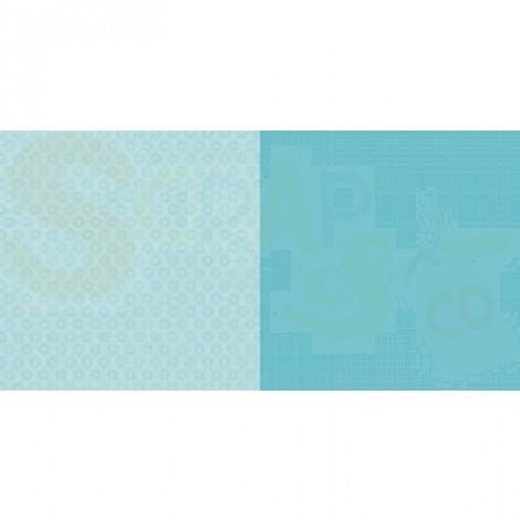 Dini Design Scrappapier, anker uni, lagoon blauw #3005