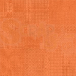 """Florence cardstock 013 texture 12x12"""" - mandarin"""