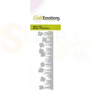 115633/0257 CraftEmotions stans, Grasrand klaver