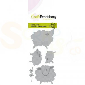 115633/0264 CraftEmotions stans, Sheep 1