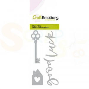 115633/0285 stans CraftEmotions, Key new home 1
