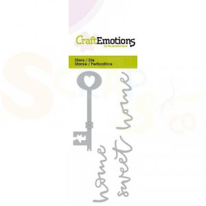 115633/0286 stans CraftEmotions, Key new home 2