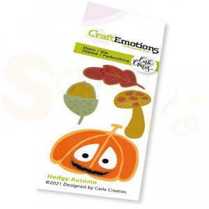 115633/0290 stans CraftEmotions, Hedgy Autumn