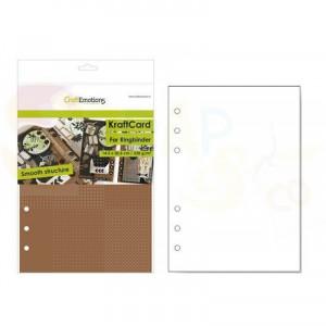 CraftEmotions, karton Ringband 14,5 x 20,5 cm, bruin 001286/0720