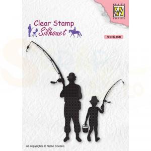 Nellie's Choice, clearstamp Silhouette, Visser SIL073