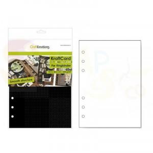 CraftEmotions, karton Ringband 14,5 x 20,5 cm, zwart 001286/0760