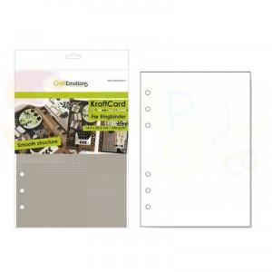 CraftEmotions, karton Ringband 14,5 x 20,5 cm, lichtbruin 001286/0780
