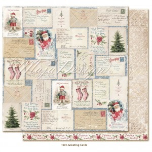 Maja Design, Christmas Season, 1001 greetings cards
