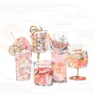 Alexandra Renke, designpapier 10.1791, Your favourite cocktals