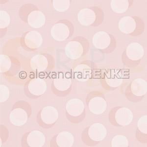 Alexandra Renke, designpapier 10.1878, Bokeh circles pastel rosa