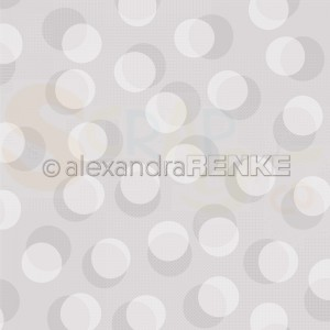 Alexandra Renke, designpapier 10.1881, Bokeh circles pastel stone grey