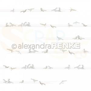 Alexandra Renke, designpapier 10.1893, Seals on lines