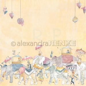 Alexandra Renke, designpapier 10.1930, 1001 Nights Elephant Parade