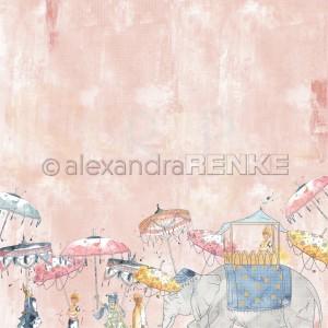 Alexandra Renke, designpapier 10.1932, 1001 Nights Parade