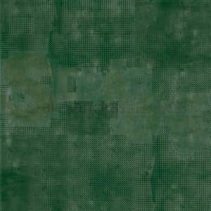 Alexandra Renke, designpapier 10.1983, Calm dark green