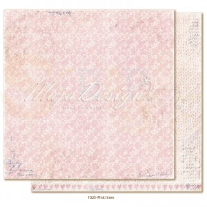 Maja Design, Denim & Girls 1025, Pink linen