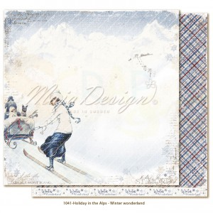 Maja Design, Holiday in the Alps 1041, Winter Wonderland