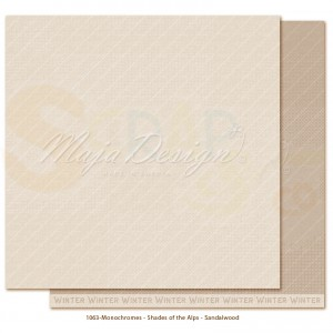 Maja Design, Holiday in the Alps monochromes 1063, Sandalwood
