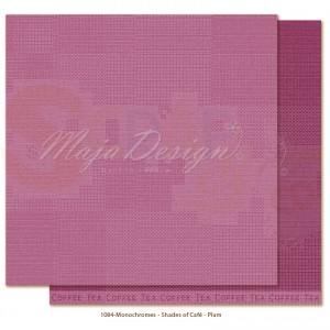 Maja Design, Little Street Cafe monochromes1084, plum