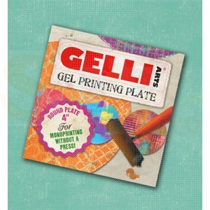 Gelli Arts, Gel Printing Plate rond 10cm 10931