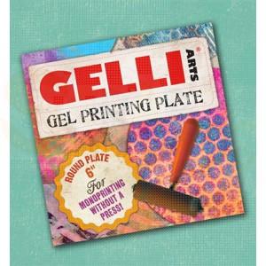 10932 Gelli plate rond 15 cm