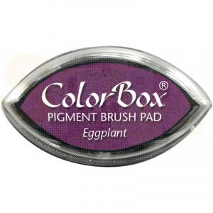 Colorbox cat's eye inkpad, eggplant