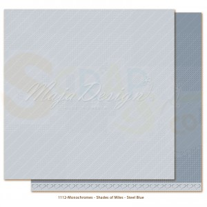 Maja Design, Miles Apart Monochromes 1112, Steel blue