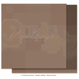 Maja Design, Miles Apart Monochromes 1114, Walnut brown