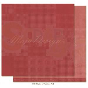 Maja Design, Traditional Christmas 1131,, Monochromes red