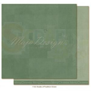 Maja Design, Traditional Christmas 1132, Monochromes green