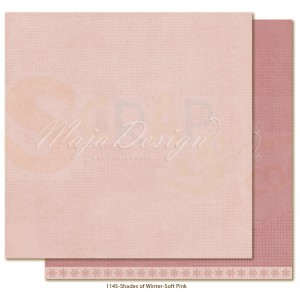 Maja Design, Winter is coming 1145, Monochromes Soft pink