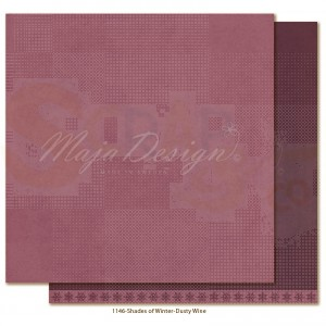 Maja Design, Winter is coming 1146, Monochromes Dusty wine