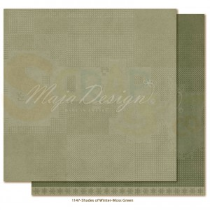 Maja Design, Winter is coming 1147, Monochromes Moss green
