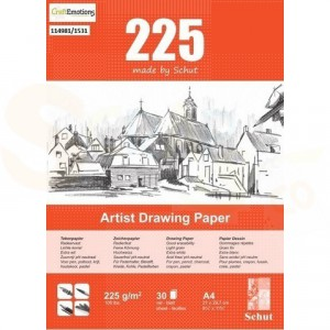 Schut Artist Drawing Paper A4, 225 grams 114981/1531