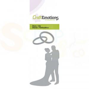 115633/0154 stans CraftEmotions, huwelijkspaar