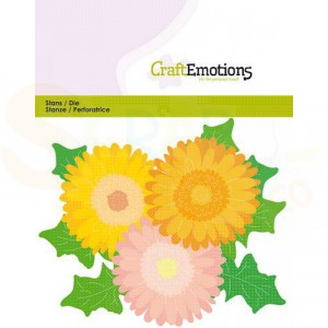 115633/0433, CraftEmotions, stans, Gerbera