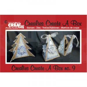 CreaLies, Create a Box nr. 9, driehoek kerstboom