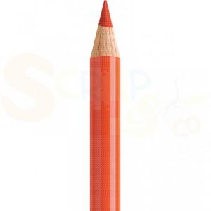 Faber Castell, Polychromos kleurpotlood 115, cadmiumoranje donker