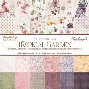 Maja Design, Tropical Garden 1163, Paperpad 6x6 inch