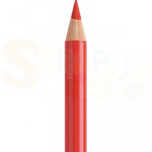 Faber Castell, Polychromos kleurpotlood 117, cadmiumrood fel