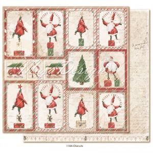 Maja Design, Happy Christmas 1184, Die cuts