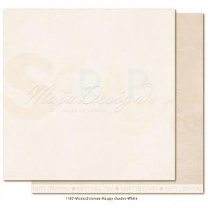 Maja Design, Happy Christmas monochromes 1187, White