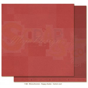 Maja Design, Happy Christmas monochromes 1188, Santa's coat