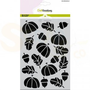CraftEmotions Mask stencil A5, Hedgy Herfst 185070/1281