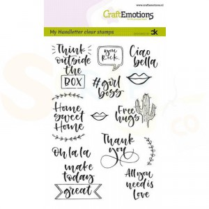 130501/1817, CraftEmotions clearstamp, Quotes 2