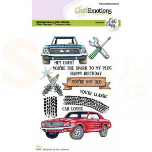 130501/1512, CraftEmotions clearstamp A6, Cars