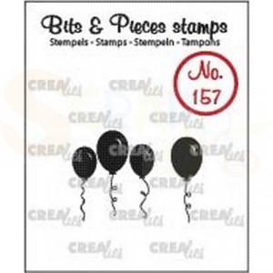 CLBP157 clearstamp bits&pieces no.157 Ballonnen dicht
