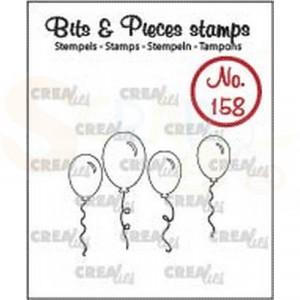 CLBP158 clearstamp bits&pieces no.158 Ballonnen omlijning