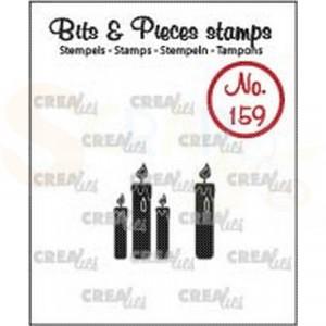 CLBP159 clearstamp bits&pieces no.159 Kaarsjes dicht